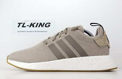 6df5e82524d Adidas Originals NMD R2 Boost Trace Khaki Brown Black White BY9916 Msrp   130 FW