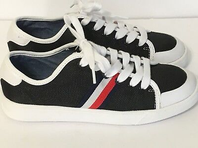 fc0e978beaf8 New TOMMY HILFIGER Spruce 3 Women s Sneakers Shoes Size 6 M  59.00 Blk navy  red