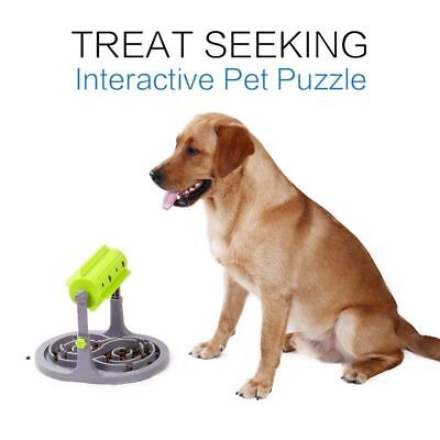 Pet Dog Puppy Chew Slow Feeders Puzzle Toy Fun Food Dishes Play Interactive Toy