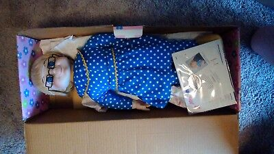 Mrs. Beasley Collectible Porcelain Doll Cheryl Ladd