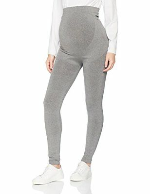 Noppies Seamless Legging Cara 63976, Leggings Premaman Donna, Grigio (Grey Me...