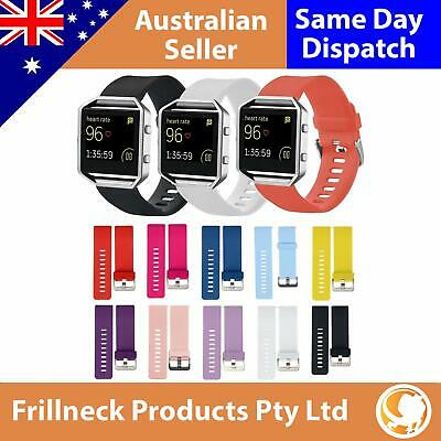 Replacement Silicone Band Sport Bracelet Fitness Watch Strap For Fitbit Blaze