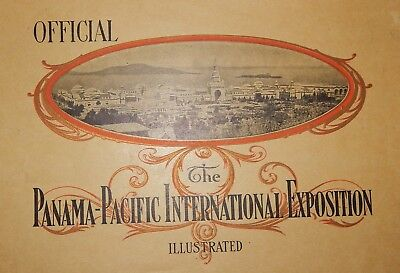 Official The Panama-Pacific International Exposition Illustrated 1915 rare cover