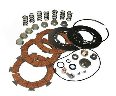 New Clutch Friction & Pressure Plate Vespa Px 200 Cosa 7 Springs Embrague @aud
