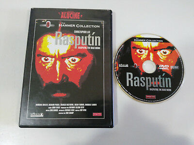 Rasputin The Mad Monk Christopher Lee Dvd + Extra Español English Terror