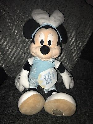 Disney 2017 Easter Mickey Mouse Soft Plush Toy Brand New with Tag Rare