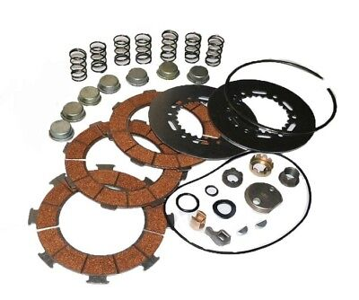 New Clutch Friction & Pressure Plate Vespa Px 200 Cosa 7 Springs Embrague @au