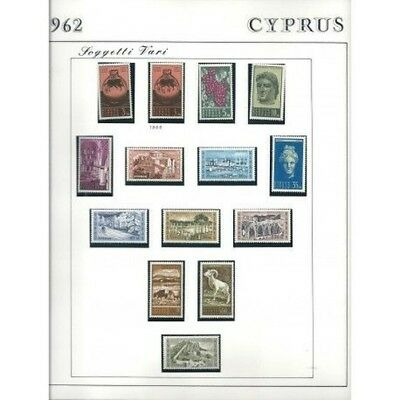 1962 Cipro Cyprus Final 14 Val Mf12742