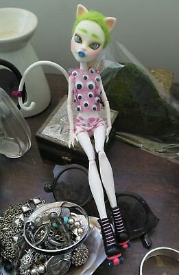 monster high ooak repaint doll