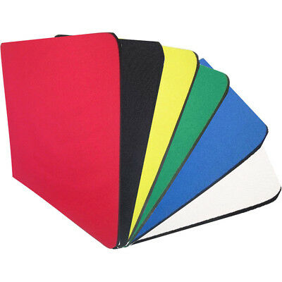 Fabric Mouse Mat Pad Blank Mouse Pad 5mm Thick Non Slip Foam 25cm x 21cm new.