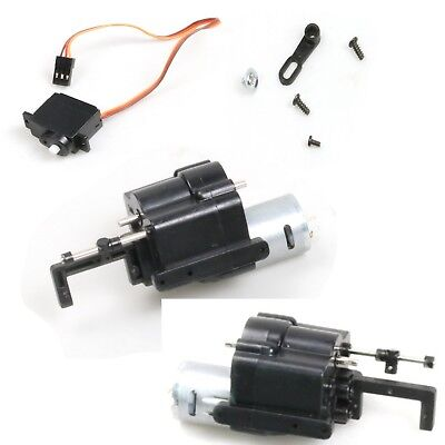 2 Speed Gearbox Motor Spare Part Shift Servo For WPL B14 16 24