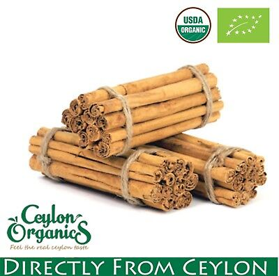 Organic Ceylon Cinnamon Sticks Sri lanka ground spices true not cassia ALBA best