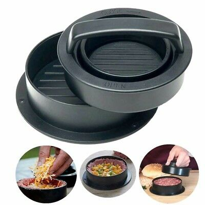 Stuffed Burger Press BBQ Patty Hamburger Maker Mould Non-stick Kitchen DIY Tool