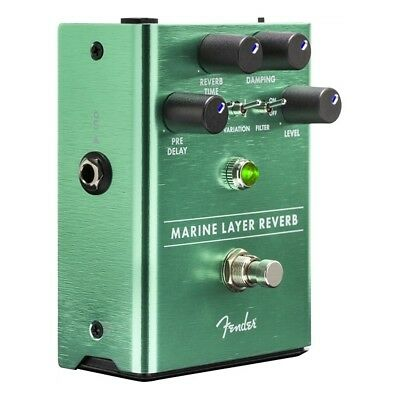 Fender Marine Layer Reverb Pedal - NEW RELEASE!
