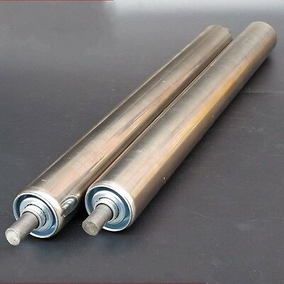 50mm OD Stainless Steel Heavy Duty Assembly Line Conveyor Roller 200-600mm Long
