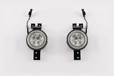 Mini Cooper One R53 01-06 LED Clear Front Indicators Repeaters Pair With DRL