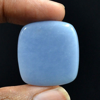 Cts. 41.00 Natural Enchanting Angelite Square Cabochon Exclusive Gemstone