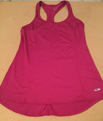 60979e5f103afd CHAMPION C9 DUO DRY Tank Top XS Orchid Racer back classic neck Athletic  sport