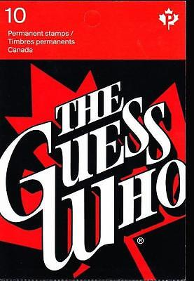 Canada 2013 Booklet #546 The Guess Who