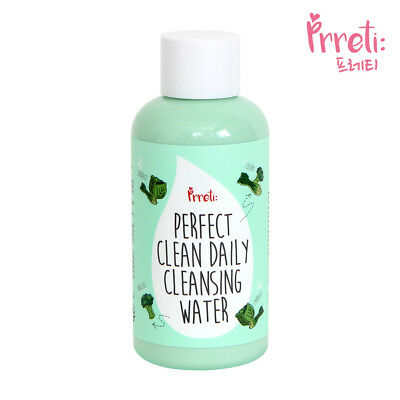 PRRETI Perfect Clean Daily Cleansing Water 250g [KOREAN BEAUTY / ISO22716 / CGMP
