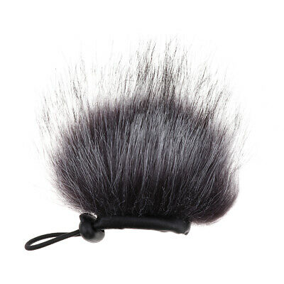 Fur Windscreen Windshield Wind Muff Wind Cover for Sony ICD-MX20 Recorder