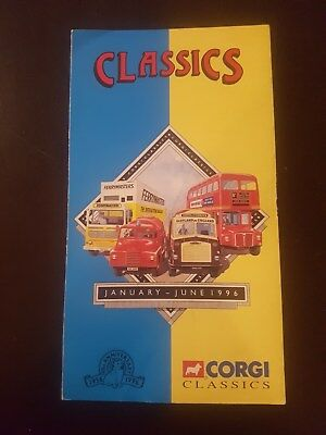 Corgi Classics January-June 1996 Catalogue
