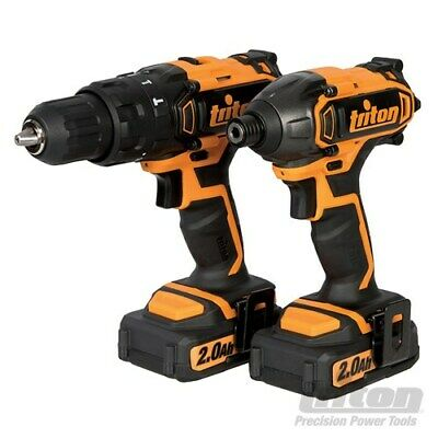 Combi Hammer Drill & Impact Driver Twin Pack Lithium Ion T20Ch T20Id 2Ah 275478