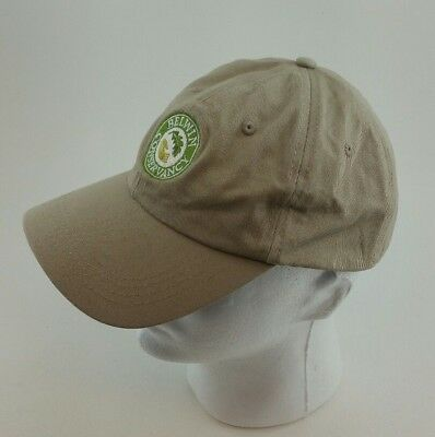 Belwin Conservancy tan baseball cap strapback gently used TRUSTED SELLER
