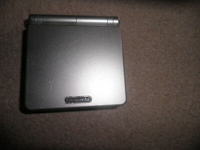 Nintendo GameBoy advance sp silver console - fully tested