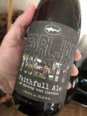 NEW sealed Dogfish Head Craft Brewery Pearl Jam Twenty Faithfull Ale Beer (2011)