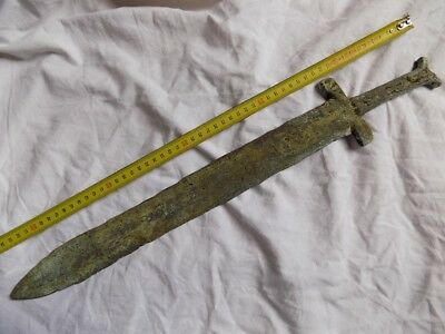 Ancient Bronze Sword   .   Roman . Greek . Byzantine .
