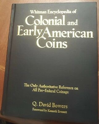 AUTOGRAPHED Whitman Encyclopedia of Colonial and Early American Coins by Q. Da..