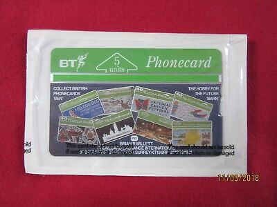 BT Phonecards - Phonecard Collecting  - 5 Units New & Sealed Phone Card