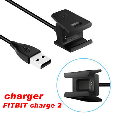 USB Cable Charger Lead Charging for Fitbit CHARGE 2 Fitness Tracker Wristband NI