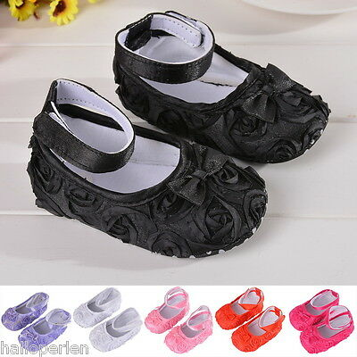 Newborn Toddler Infant Prewalker Baby Girl Shoes Anti-slip Cotton Soft Sole CA