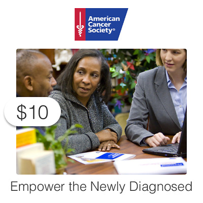 $10 Charitable Donation For: Empower Newly Diagnosed Cancer Patients