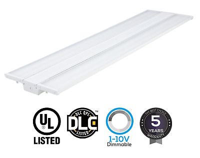 LED Linear High Bay Warehouse Light White Fixture Factory 250W-1500W Equivalent