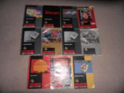super nintendo snes 11 instructions lot - lion king mario world smash tv