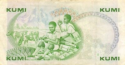 Kenya  10/-  1.1.1982   P 20b  Series  D/70  Circulated Banknote MIX