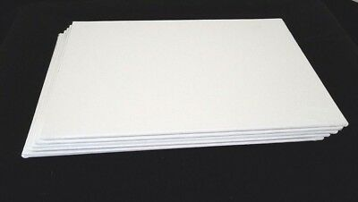 6 - Blank Canvas Panels Boards - 8 X 10""