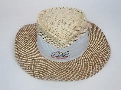 b03ed228 Vintage Ahead Arnold Palmer Invitational Bay Hill 2010 Straw Gambler Hat