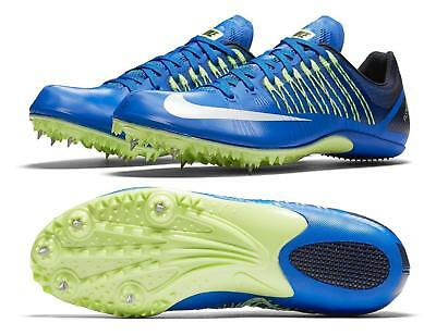 the best attitude 34bfa bc713 NEW Size 11.5 Nike Zoom Celar 5 Track Sprint Spikes Mens Blue Green (629226-