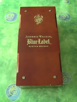 Johnnie Walker Blue Label Brownish Reddish Brown Gift Box