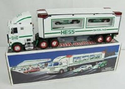 Hess* 1997* Toy* Truck* With* Two* Racers* Mib*