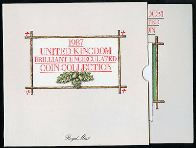 1987 United Kingdom Brilliant Uncirculated Coin Collection
