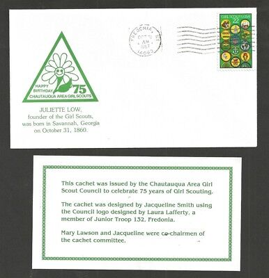 1987 Girl Scouts 75th anniversary Fredonia NY Juliette Low Chautauqua