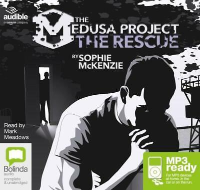 NEW The Rescue (MP3) : The medusa project #3 By Sophie McKenzie CD in MP3 Format