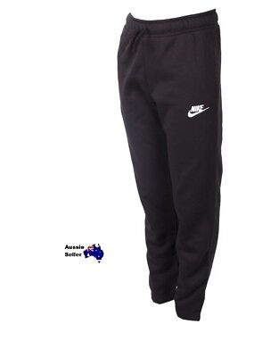 New! Nike  Junior Kids  Youth  Fleece Sweat Tracksuit Pants Tapered 805494-010