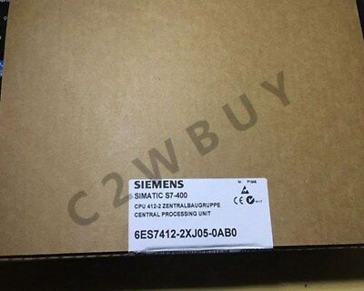 ONE NEW Siemens 6ES7412-2XJ05-0AB0
