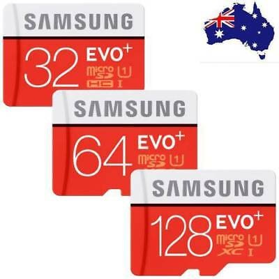Micro SD Card SamSung Evo Plus 32GB 64GB 16G 128G Class 10 SDHC SDXC TF Memory